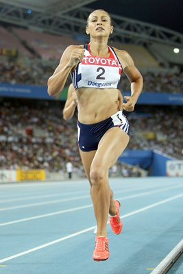 Jessica Ennis Great Britain World Athletics Daegu 2011