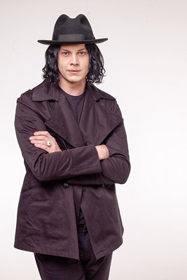 Jack White studio portrait