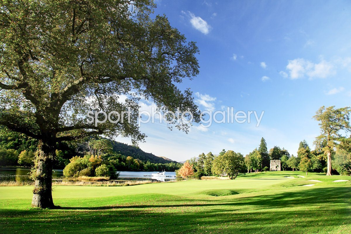 Loch Lomond Golf Club 18th hole
