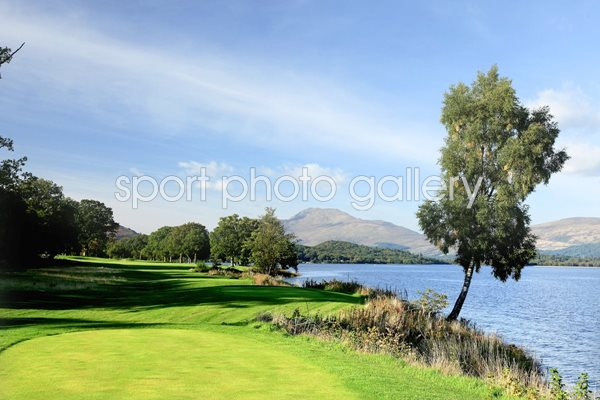 Loch Lomond Golf Club 6th hole