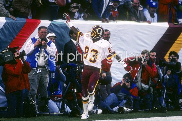 Ricky Sanders Washington Redskins Super Bowl 1988