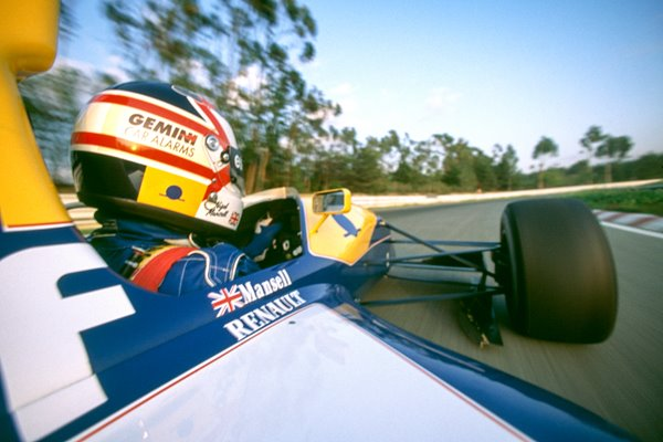 Nigel Mansell Williams Renault Onboard