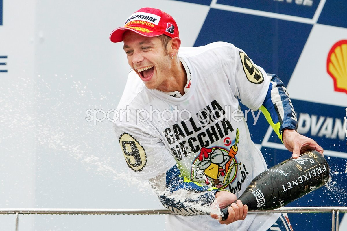 2009 World Champion Valentino Rossi