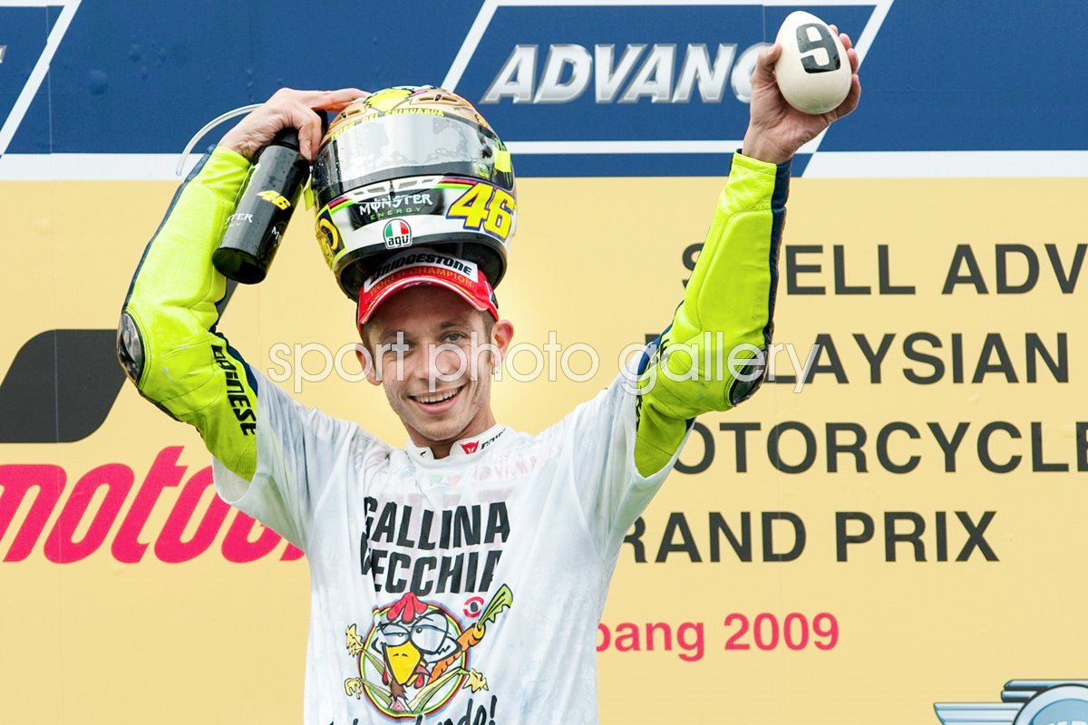 2009 Valentino Rossi - 9 Times World Champion