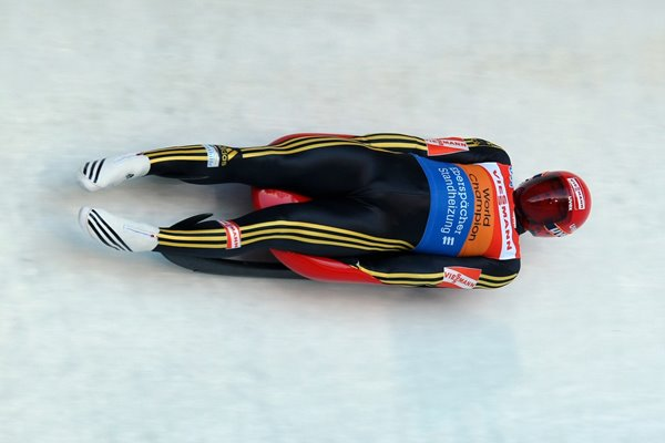 Felix Loch Germany Luge World Cup Austria 2009