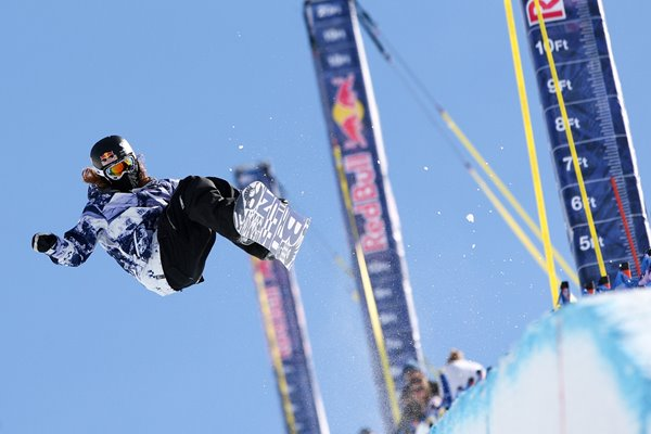 Shaun White US Snowboarding Grand Prix 2010