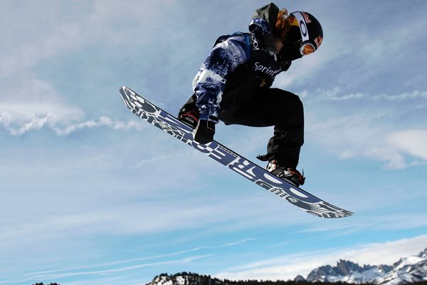 Shaun White Snowboarding Grand Prix Mammoth Lakes