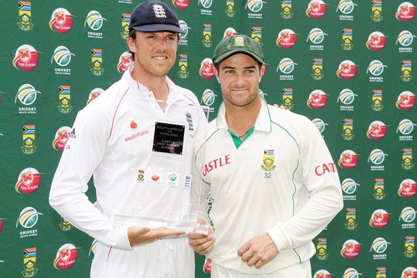 Men of the Series - Graeme Swann and Mark Boucher