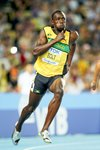 Usain Bolt 200m World Athletics 2011 Prints