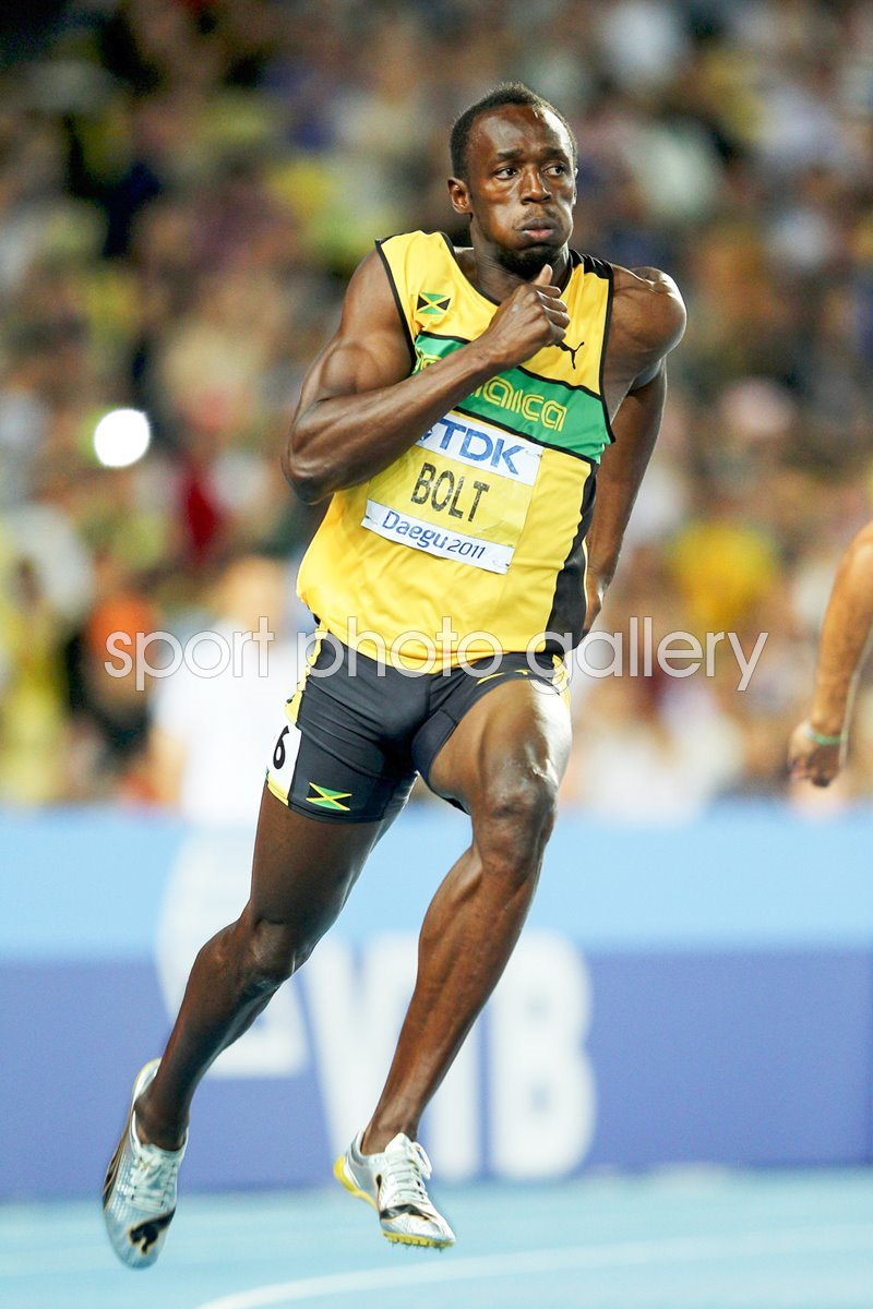 Usain Bolt 200m World Athletics 2011
