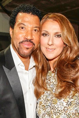 Lionel Richie with Celine Dion