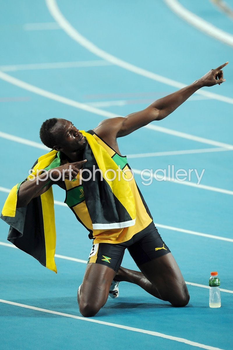 Usain Lightning Bolt 200m World Athletics 2011