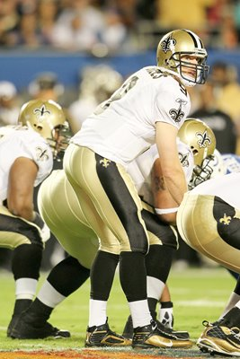 Drew Brees and New Orleans Offensive Line