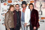 Kasabian arrive at The Brit Awards 2010 Canvas