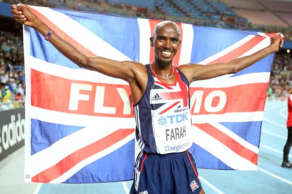 Mo Farah Great Britain Gold 5000m