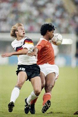 Klinsmann Germany Rijkaard Holland World Cup 1990