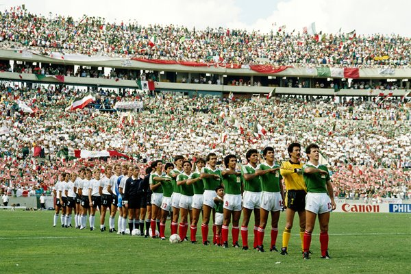 West Germany vs Mexico 1986