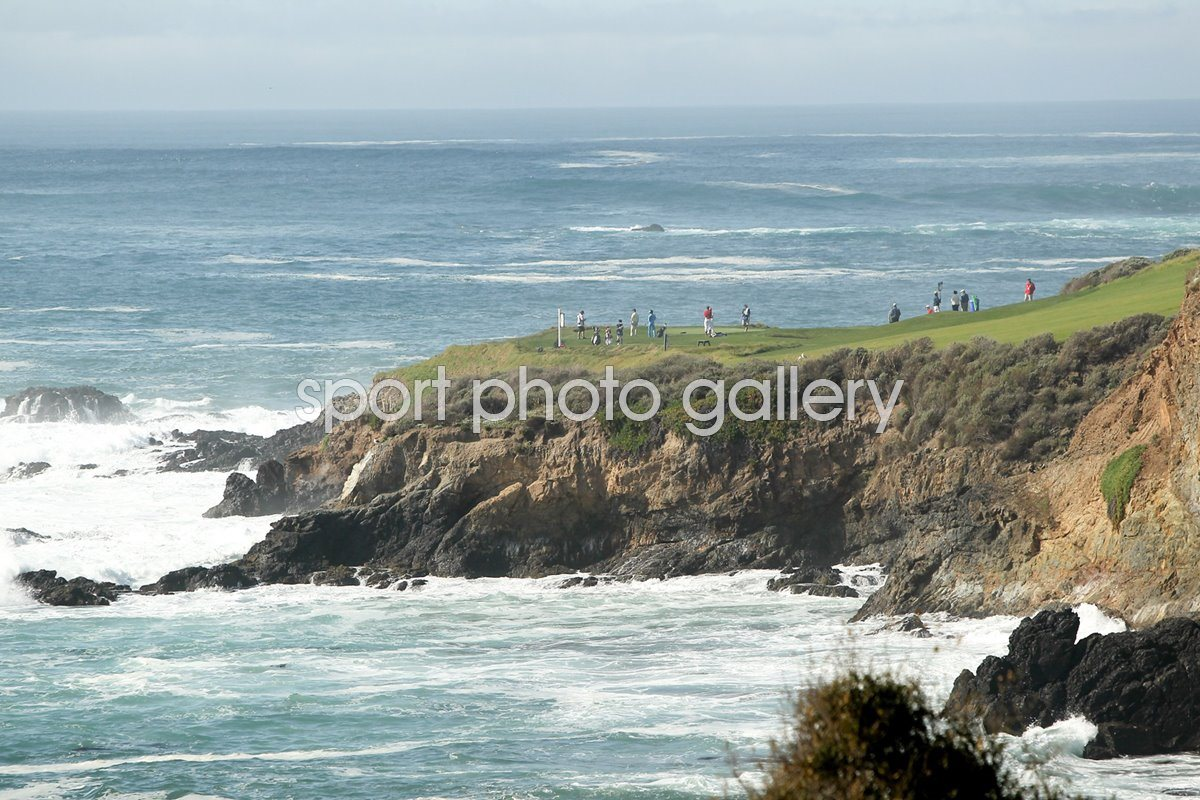 Pebble Beach, 7th hole, California, USA