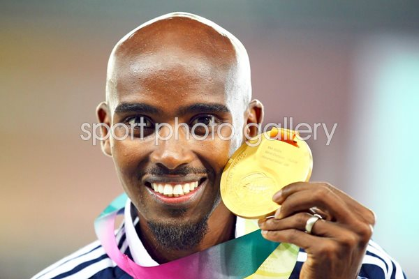 Mo Farah Great Britain Gold Medal 5000m
