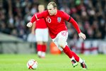 Wayne Rooney on the ball for England v Egypt  Canvas
