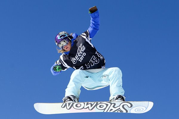 Jenny Jones of Great Britain Winter X Games 2010