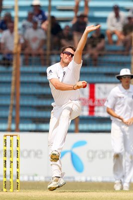 Man of the Series Graeme Swann v Bangladesh