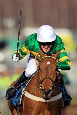 A. P. McCoy and Binocular win Champion Hurdle 2010