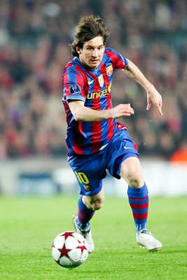 Lionel Messi 2010 Champions League v Stuttgart