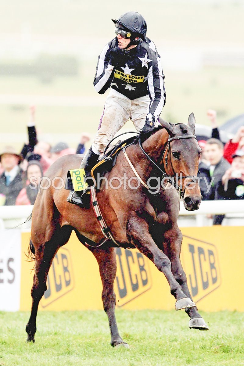 Paddy Brennan wins Gold Cup on Imperial Commander