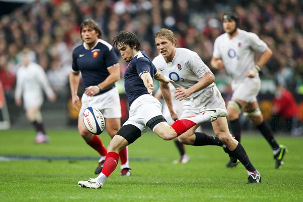 Alexis Palisson clears for France v England 2010