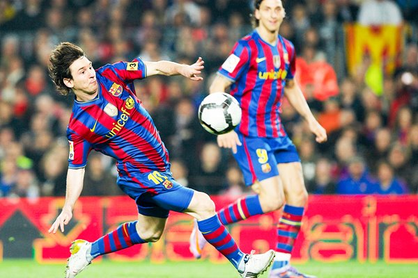 Lionel Messi Barcelona action - La Liga 2010