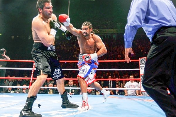 David Haye power v John Ruiz 2010