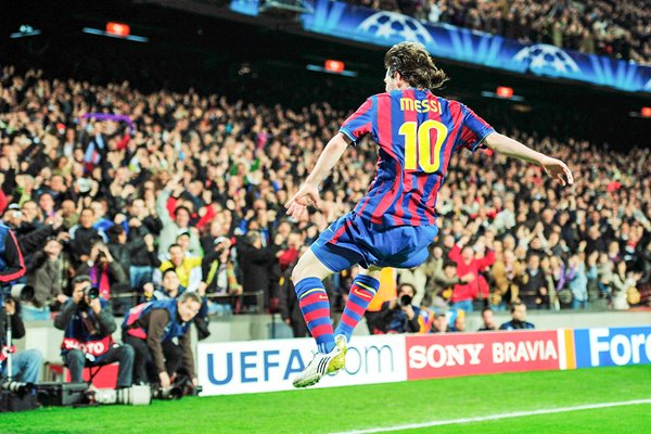 Lionel Messi Classic Celebration