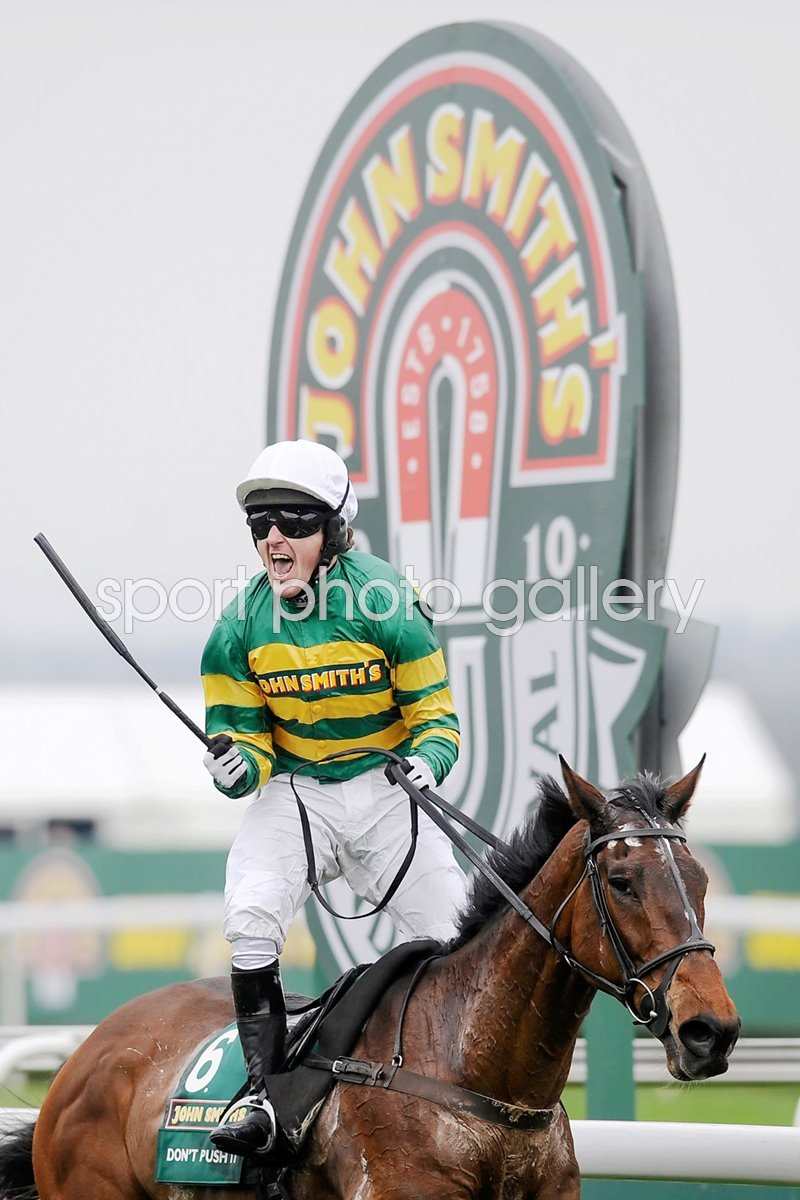 AP McCoy wins the Grand National 2010