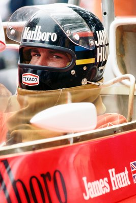 James Hunt British Grand Prix 1976