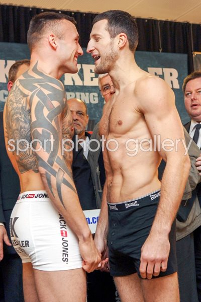Carl Froch & Mikkel Kessler Weigh-in 2010