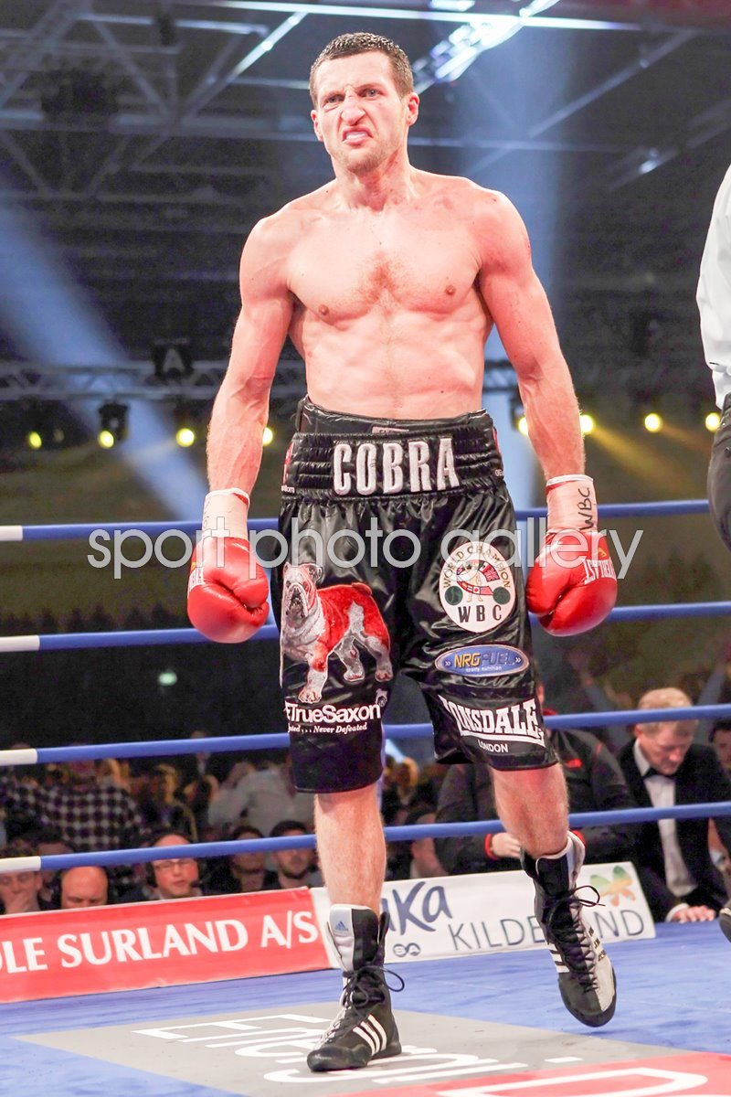 Carl Froch during Mikkel Kessler fight 2010