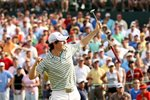 Rory McIlroy celebrates debut USPGA Tour win Prints