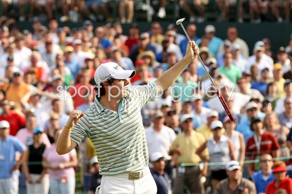 Rory McIlroy celebrates debut USPGA Tour win