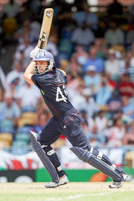 Michael Lumb England T20 World Cup action