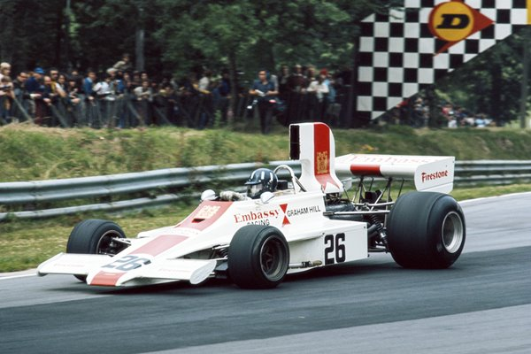 Graham Hill British Grand Prix 1974