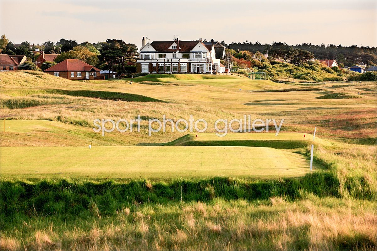 Hunstanton Golf Club 18th hole