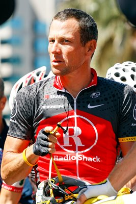 Lance Armstrong of Team Radio Shack