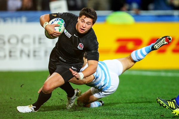 Ben Youngs scores v Argentina RWC 2011