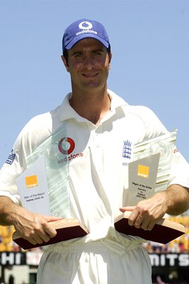 Michael Vaughan Man of the Series