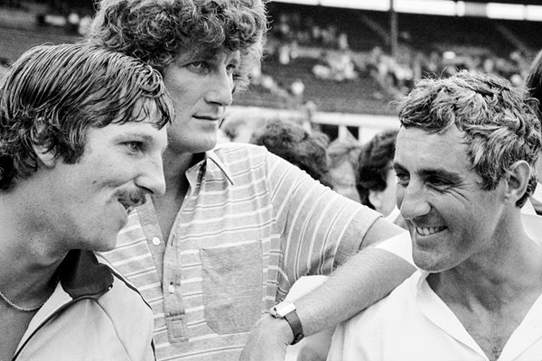 Ian Botham, Bob Willis, Mike Brearley