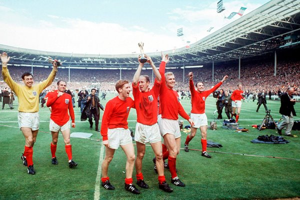 England's Lap of Honour - Wembley 1966