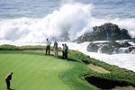 Jack Nicklaus Pebble Beach 7th green 2000 Prints