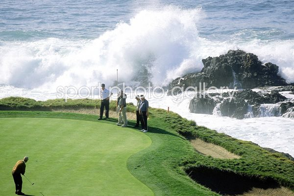 Jack Nicklaus Pebble Beach 7th green 2000