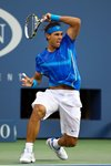 Rafael Nadal US Open action 2011 Prints
